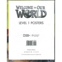 Welcome to Our World Level 1 Poster Set