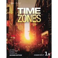 Time Zones 1 (2/E) Student Book with Online Workbook