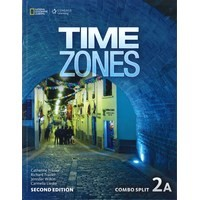Time Zones (2/E) 2 Combo Split 2A with Online Workbook