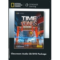 Time Zones (2/E) Starter Combo Classroom Audio CD and DVD