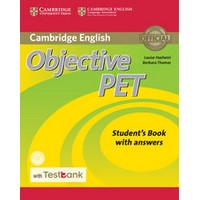 Objective PET Student's Book with answers with CD-ROM Testbank