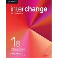 Interchange (5/E) Level 1B Student's Book with Online Self-Study