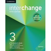 Interchange (5/E) 3 Student's Book with Online Self-Study and Online Workbook