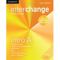 Interchange Intro A (5/E) Full Contact with Online Self-Study + Online Workbook