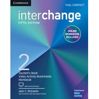 Interchange (5/E) Level 2 Full Contact with Online Self-Study and Online Workbook