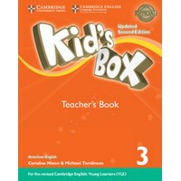 Kid's Box Ame (Updated 2/E) 3 Teacher's Book