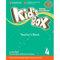 Kid's Box Ame (Updated 2/E) 4 Teacher's Book