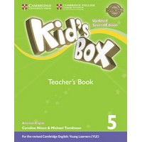 Kid's Box Ame (Updated 2/E) 5 Teacher's Book