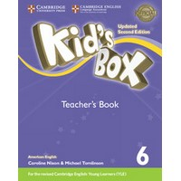 Kid's Box Ame (Updated 2/E) 6 Teacher's Book