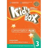 Kid's Box Ame (Updated 2/E) 3 Presentation Plus DVD-ROM