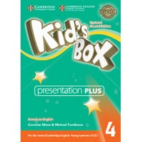Kid's Box Ame (Updated 2/E) 4 Presentation Plus DVD-ROM