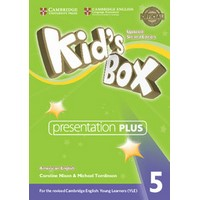 Kid's Box Ame (Updated 2/E) 5 Presentation Plus DVD-ROM