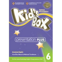 Kid's Box Ame (Updated 2/E) 6 Presentation Plus DVD-ROM