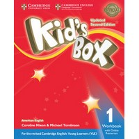 Kid's Box Ame (Updated 2/E) 1 Workbook with Online Resources