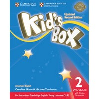 Kid's Box Ame (Updated 2/E) 2 Workbook with Online Resources