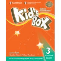 Kid's Box Ame (Updated 2/E) 3 Workbook with Online Resources