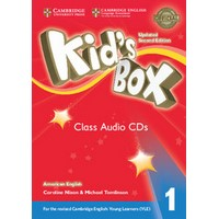 Kid's Box Ame (Updated 2/E) 1 Class Audio CDs
