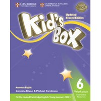 Kid's Box Ame (Updated 2/E) 6 Workbook with Online Resources
