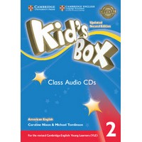 Kid's Box Ame (Updated 2/E) 2 Class Audio CDs