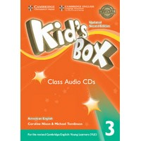 Kid's Box Ame (Updated 2/E) 3 Class Audio CDs