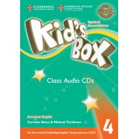 Kid's Box Ame (Updated 2/E) 4 Class Audio CDs