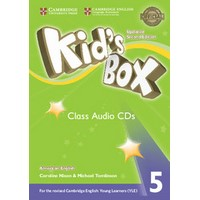 Kid's Box Ame (Updated 2/E) 5 Class Audio CDs