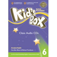 Kid's Box Ame (Updated 2/E) 6 Class Audio CDs