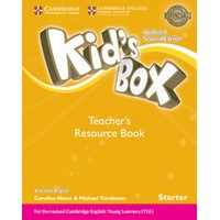 Kid's Box Ame (Updated 2/E) Starter Teacher's Resource Book with Online Audio