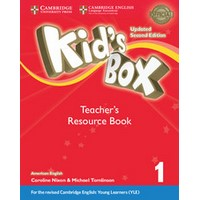 Kid's Box Ame (Updated 2/E) 1 Teacher's Resource Book with Online Audio