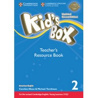 Kid's Box Ame (Updated 2/E) 2 Teacher's Resource Book with Online Audio