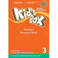 Kid's Box Ame (Updated 2/E) 3 Teacher's Resource Book with Online Audio