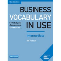 Business Vocabulary in Use Intermediate (3/E) Book with Answers