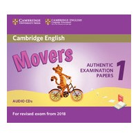 Cambridge English Movers 1 for Revised Exam from 2018 Audio CDs (2)