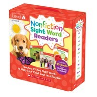 Non Fiction Sight Word Readers A +CD