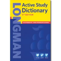 Longman Active Study Dictionary (5/E)  Paperback + CD-ROM