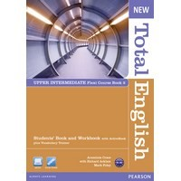 New Total English Upper Intermediate Split Ed B with ActiveBk (Flexi Student Bk + Workbk)