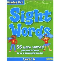 Flash Kids Flash Skills Workbooks Sight Words Level B (Grades K-1)