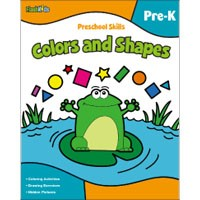 Flash Kids Preschool Skills Colors and Shapes