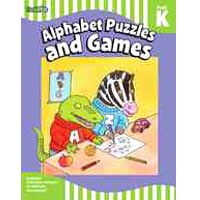 Flash Kids Flash Skills Workbooks Alphabet Puzzles and Games Grade Pre-K-K