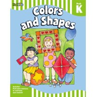 Flash Kids Flash Skills Workbooks Colors and Shapes Grade Pre-K-K