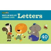 Write-On Wipe-Off Learning Cards:Letters
