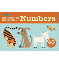 Write-On Wipe-Off Learning Cards:Numbers