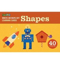 Write-On Wipe-Off Learning Cards:Shapes