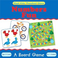 Flash Kids Preschool Skills Games Numbers Board Game