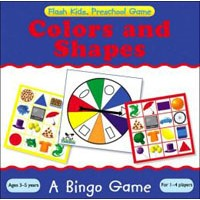 Flash Kids Preschool Skills Games Colors and Shapes Bingo
