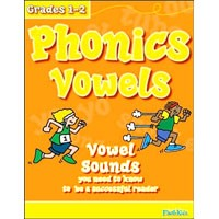 Flash Kids Flash Skills Workbooks Phonics Vowels