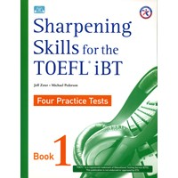 Sharpening Skills for the TOEFL iBT Student Book + Audio CD (4)
