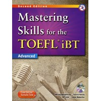 Mastering Skills for the TOEFL iBT Advanced (2/E) Mastering Combined Book + MP3 CD