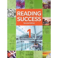 Reading Success 1 (2/E) Student Book + MP3 CD