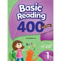 Basic Reading 400 Key Words 1 Student Book with Workbook & Student Digital Materials CD
